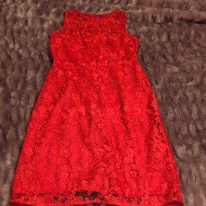 Jcrew lace shift dress